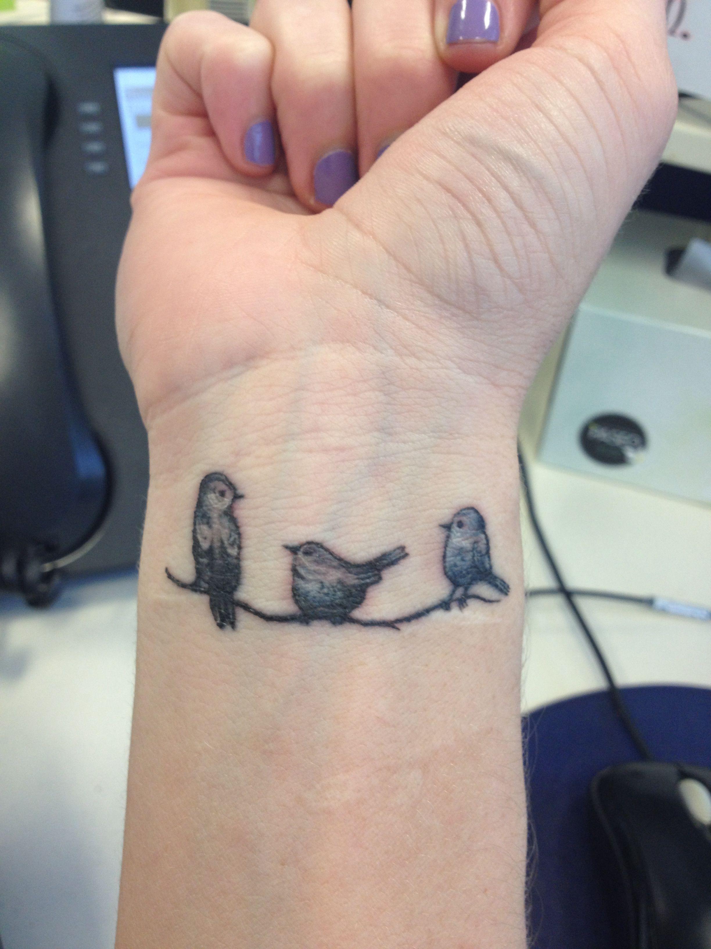 10+ Best 3 birds tattoo ideas | birds tattoo, cute tattoos