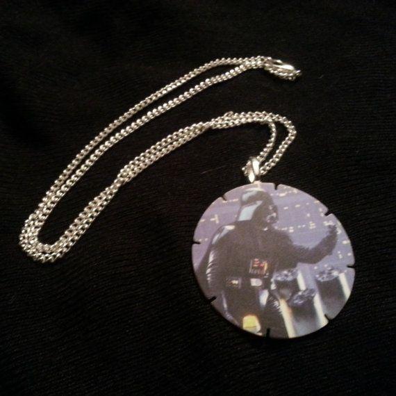 Darth Vader necklace on Etsy - https://www.etsy.com/listing/177581034/star-wars-darth-vader-tazo-pendant