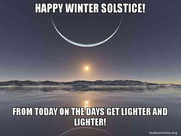 25 Funny Winter Memes & Quotes About The Winter Solstice To