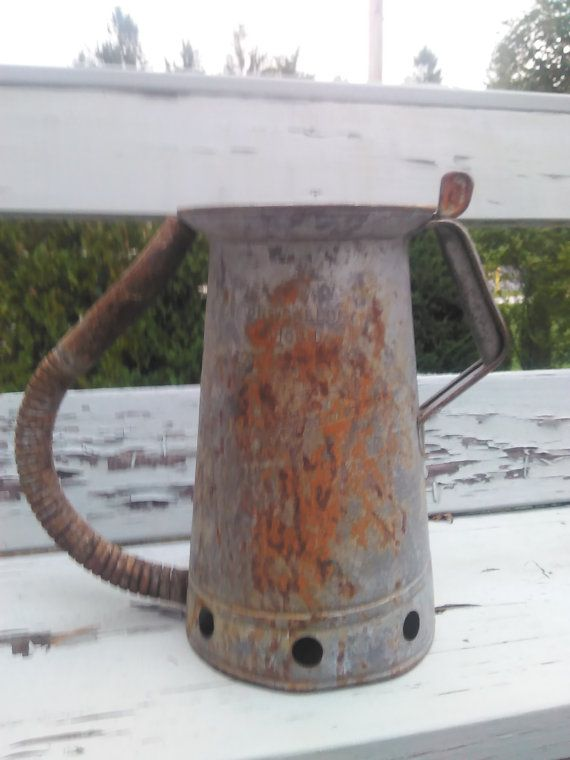 Vintage Oil Can, Vintage Gas Can/Watering Can/Metal Can