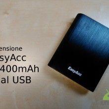 batteria EasyAcc 10400mAh Dual USB