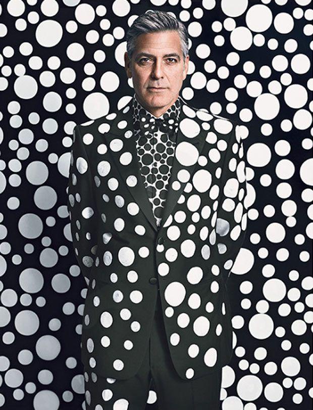 George Clooney é capa da W Magazine