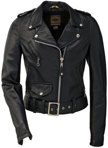 98f2cbf10 Iconic Schott Perfecto Leather jacket. | dress | Lambskin leather ...