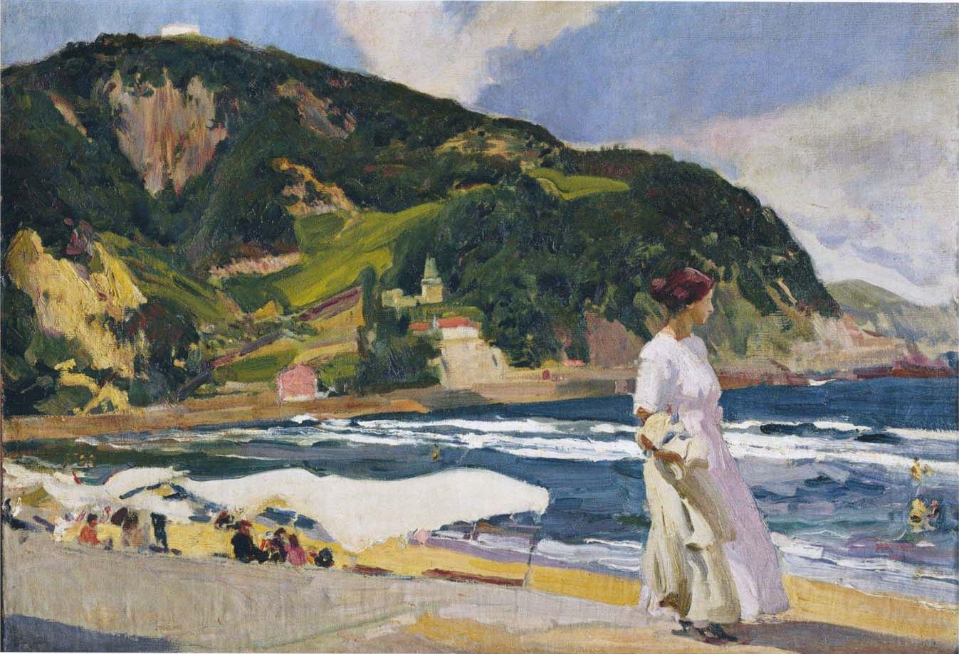 Joaquín Sorolla Realist Impressionist Painter Part 2 Joaquin Sorolla Beach Canvas Canvas Art Prints