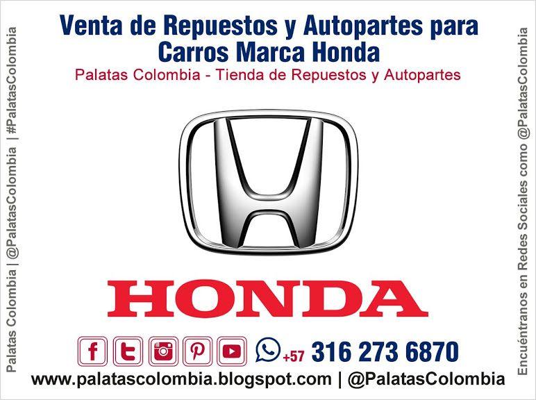 Venta De Repuestos Y Autopartes Para Carros Marca Honda En