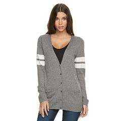 juniors' so® perfectly soft buttonfront cardigan