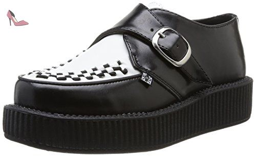 Chaussures TUK noires Casual unisexe 8lRrCUwU