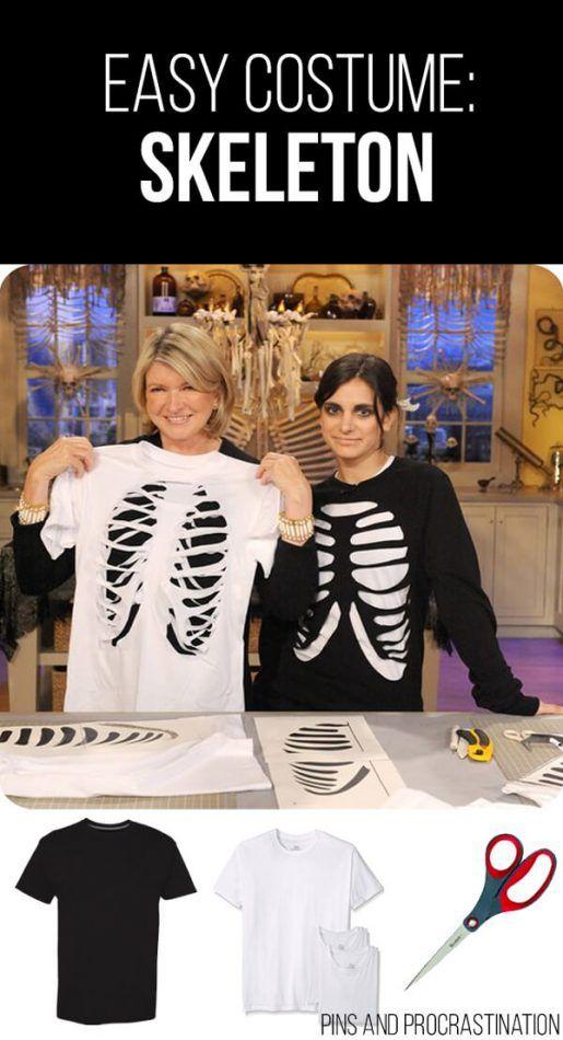 13 Easy Last Minute DIY Halloween Costumes Pinterest DIY - diy halloween costume ideas for women