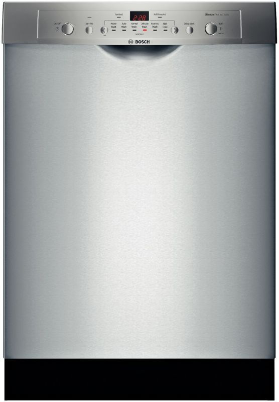 Bosch She3ar72uc White 24 Built In Dishwasher With Recessed Handle And Express Wash Ascenta Series Built In Dishwasher Best Dishwasher Steel Tub