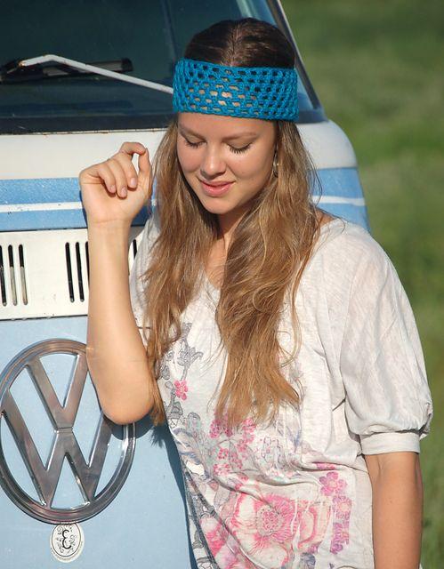 Ravelry: Hippie Headband pattern by Callie Beck | Crochet Ear ...