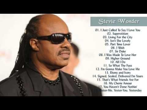 d7f2a322d Stevie Wonder Greatest Hits (Full Album) - The Best Of Stevie Wonder ...