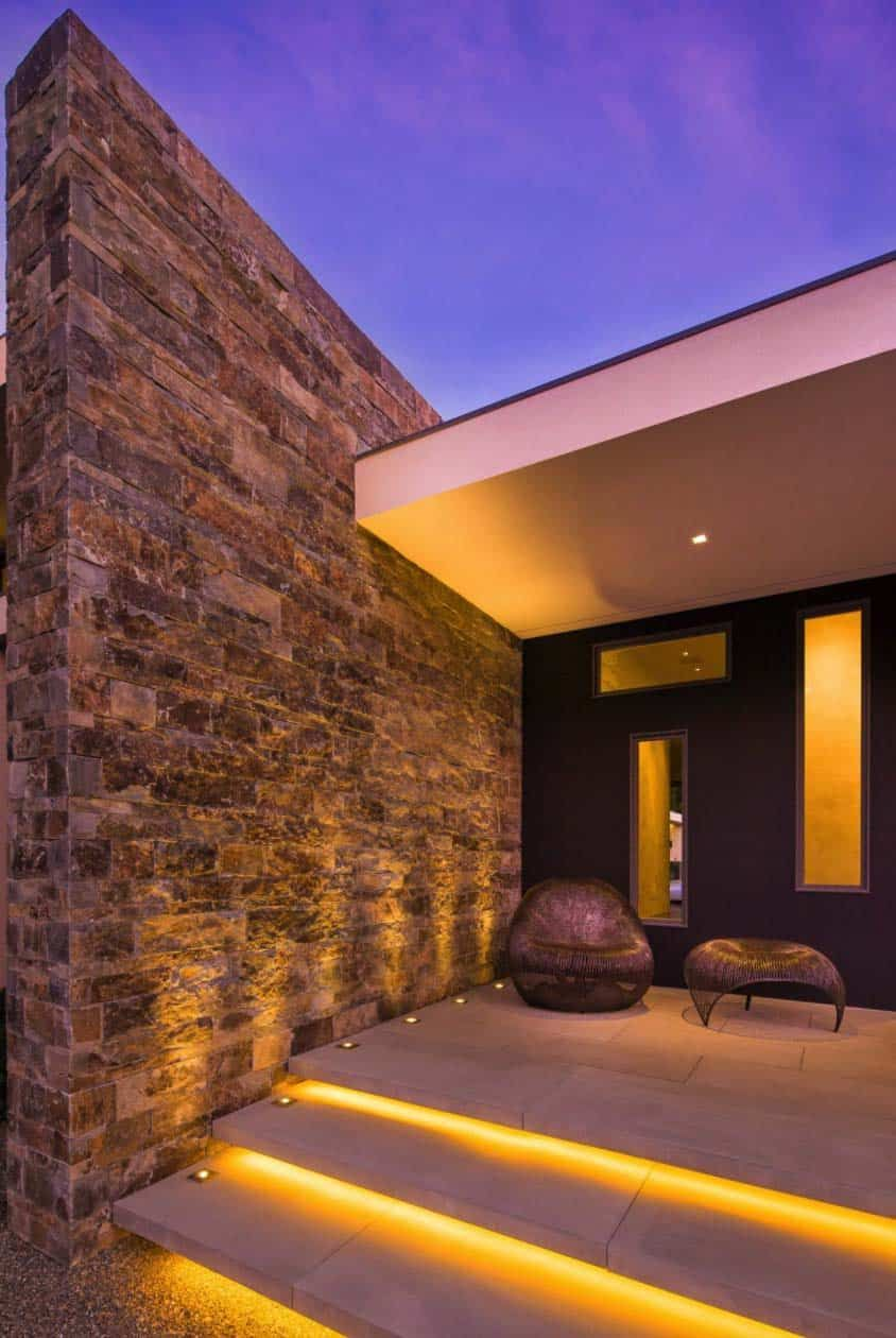 Exciting Modern Front Doors Ideas For Modern Home Design Recessed Lighting And Modern Front: Striking Modern Home In East Hampton Expressing Indoor-outdoor Living