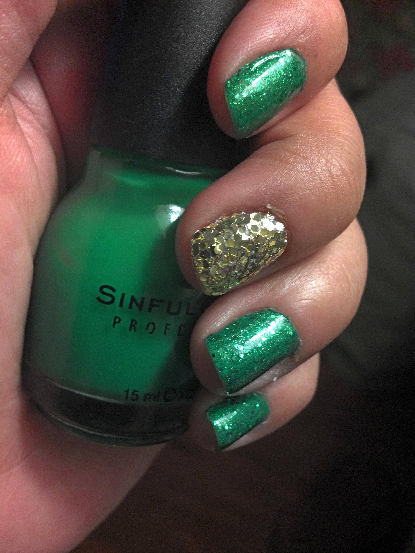 St. Patrick\'s Day nails   Éirinn go Brách !   Pinterest   Manicuras ...