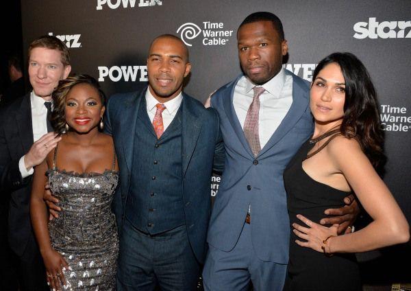 50 Cent And Cast Of Starz Power Tv Show Interviews Ok Magazine