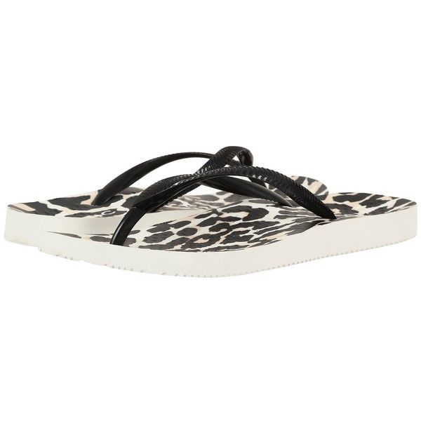 66f31962f3f VIONIC Beach Noosa (Black Leopard) Women s Sandals ( 40) ❤ liked on  Polyvore featuring shoes