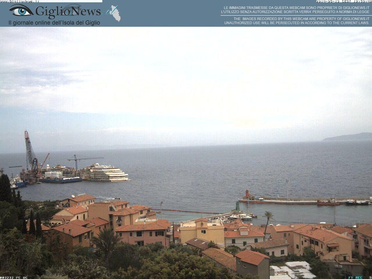 Salvage of the Costa Concordia  2014-05-13