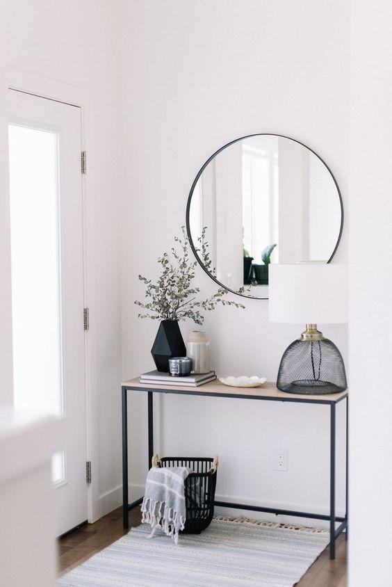 Qu significa la palabra minimalista   Juli   Home Decor Home interior design y Modern entryway