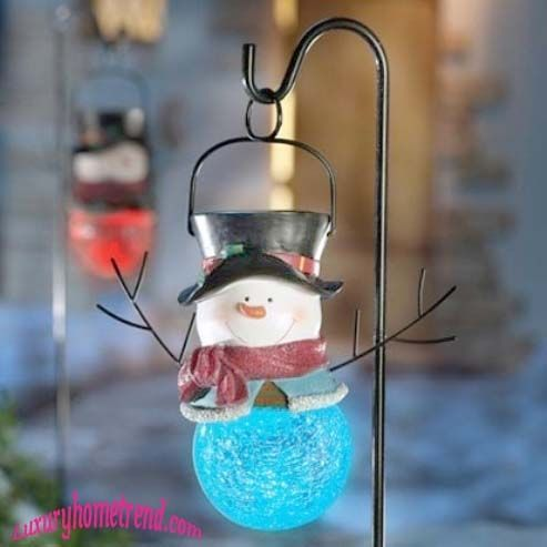 40 Trendy Outdoor Christmas Decorations Spark eHow All - outdoor snowman christmas decorations