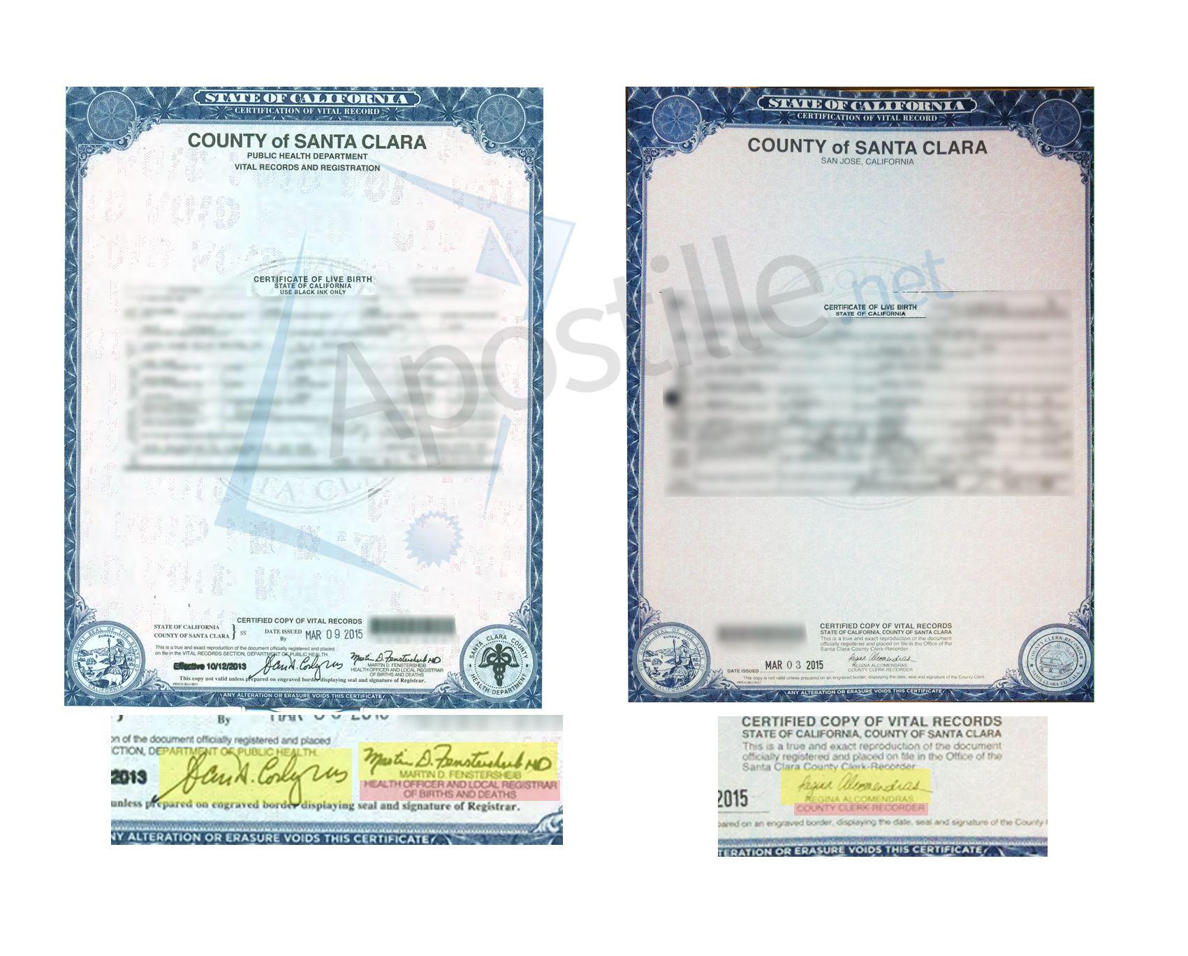 County of san mateo certificate of birth signed by scott morrow county of san mateo certificate of birth signed by scott morrow state of california sample apostille pinterest san mateo 1betcityfo Choice Image