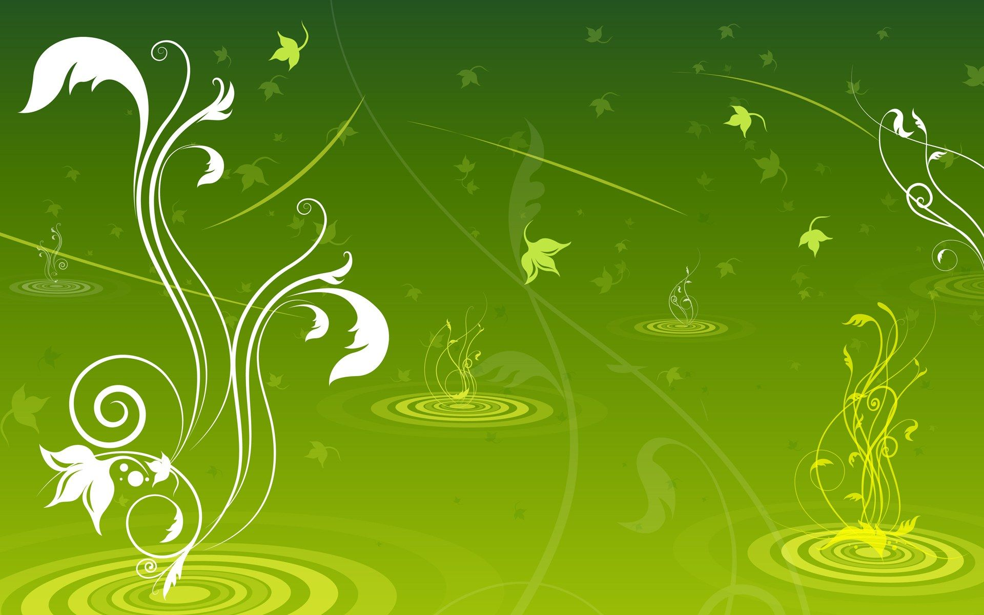 HD Wallpapers Vector Flower Patterns Background 60