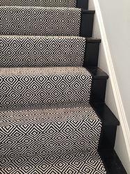 Best Look At This Beautiful Custom Stair Runner Black Diamond 640 x 480