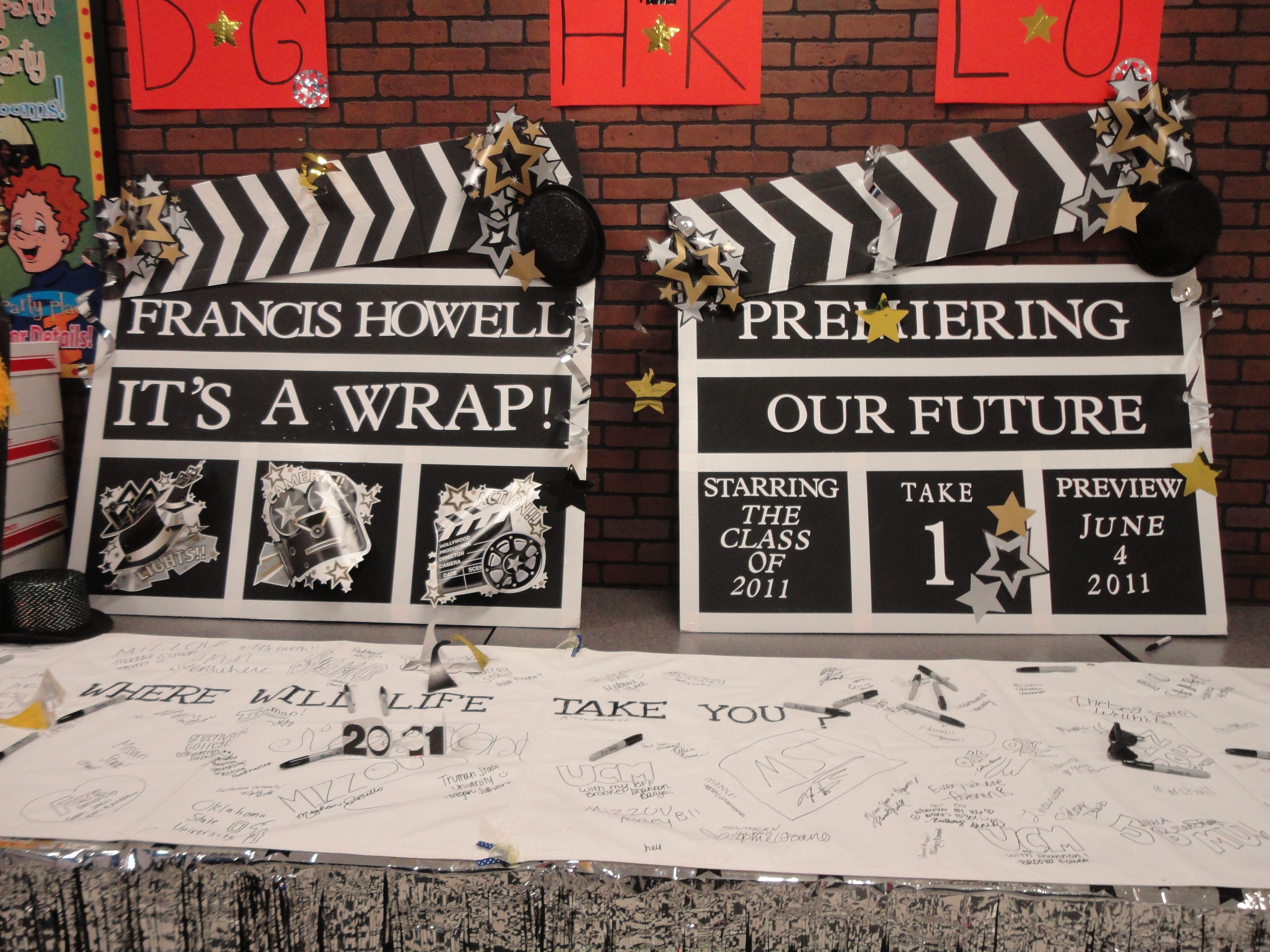 Senior Night Theme Premiering Our Future! (Hollywood