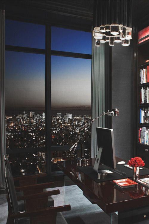 Executive Home Office Design