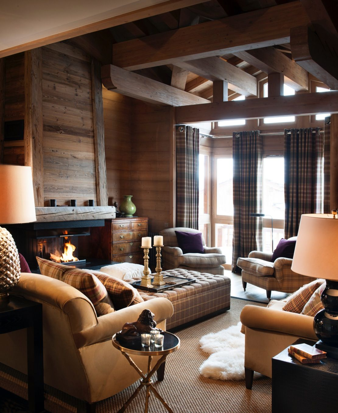 The Farmhouse Val D Isere A Luxury Family Chalet In Val D Isere French Alps Family Room