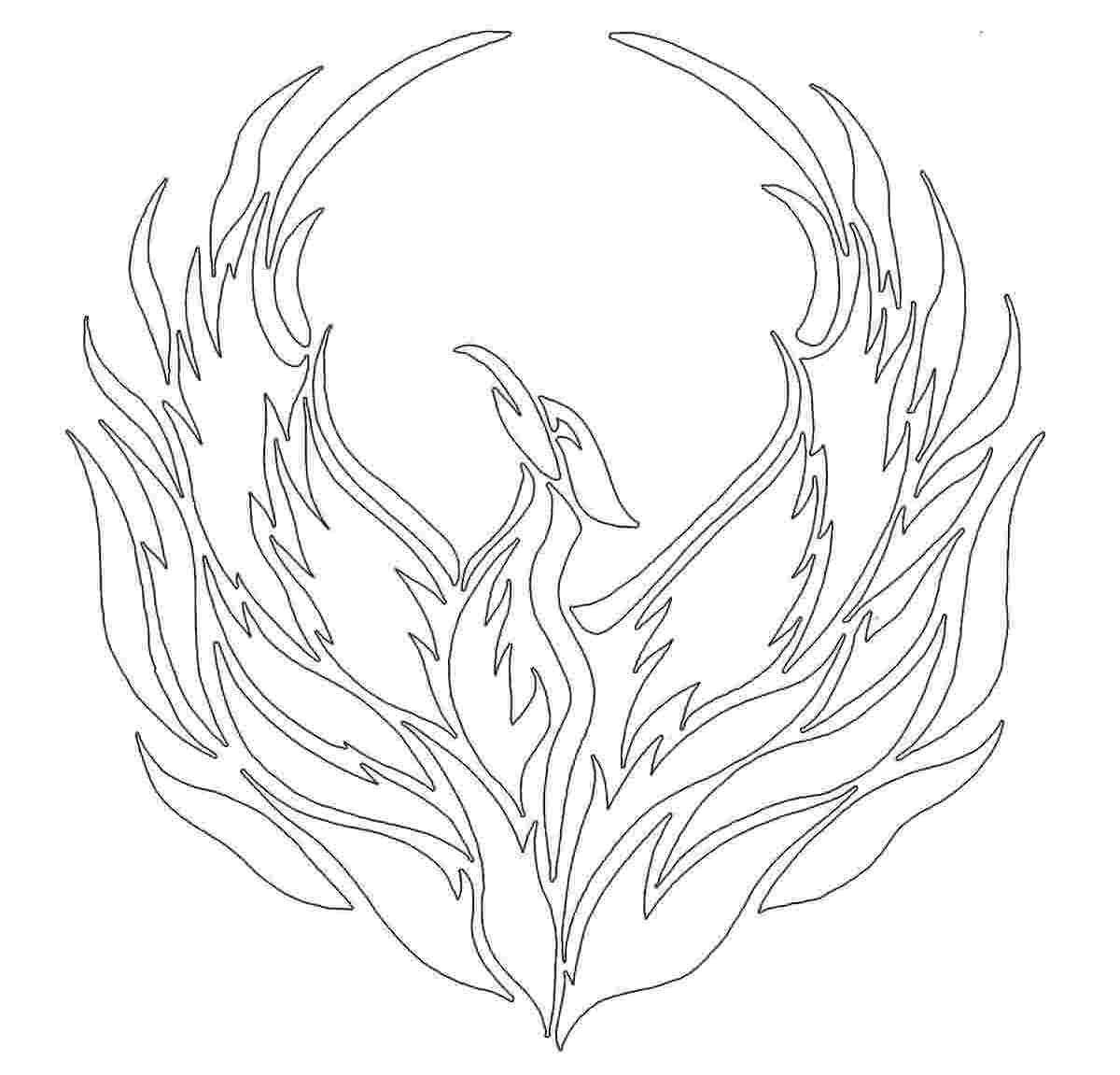 phoenix outline - Google Search   Body mods   Pinterest   Phoenix ...