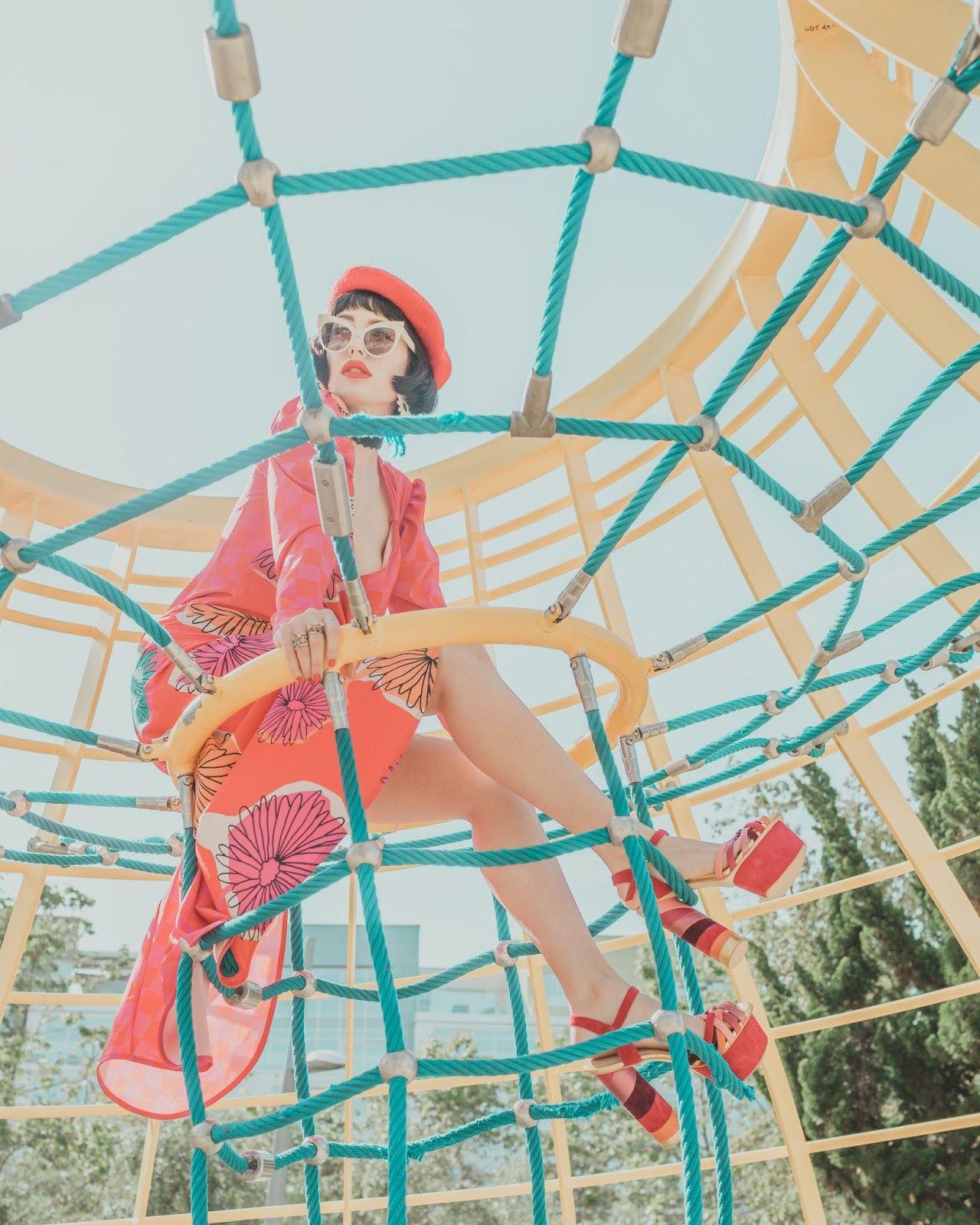 Playground Photoshoot Aesthetic