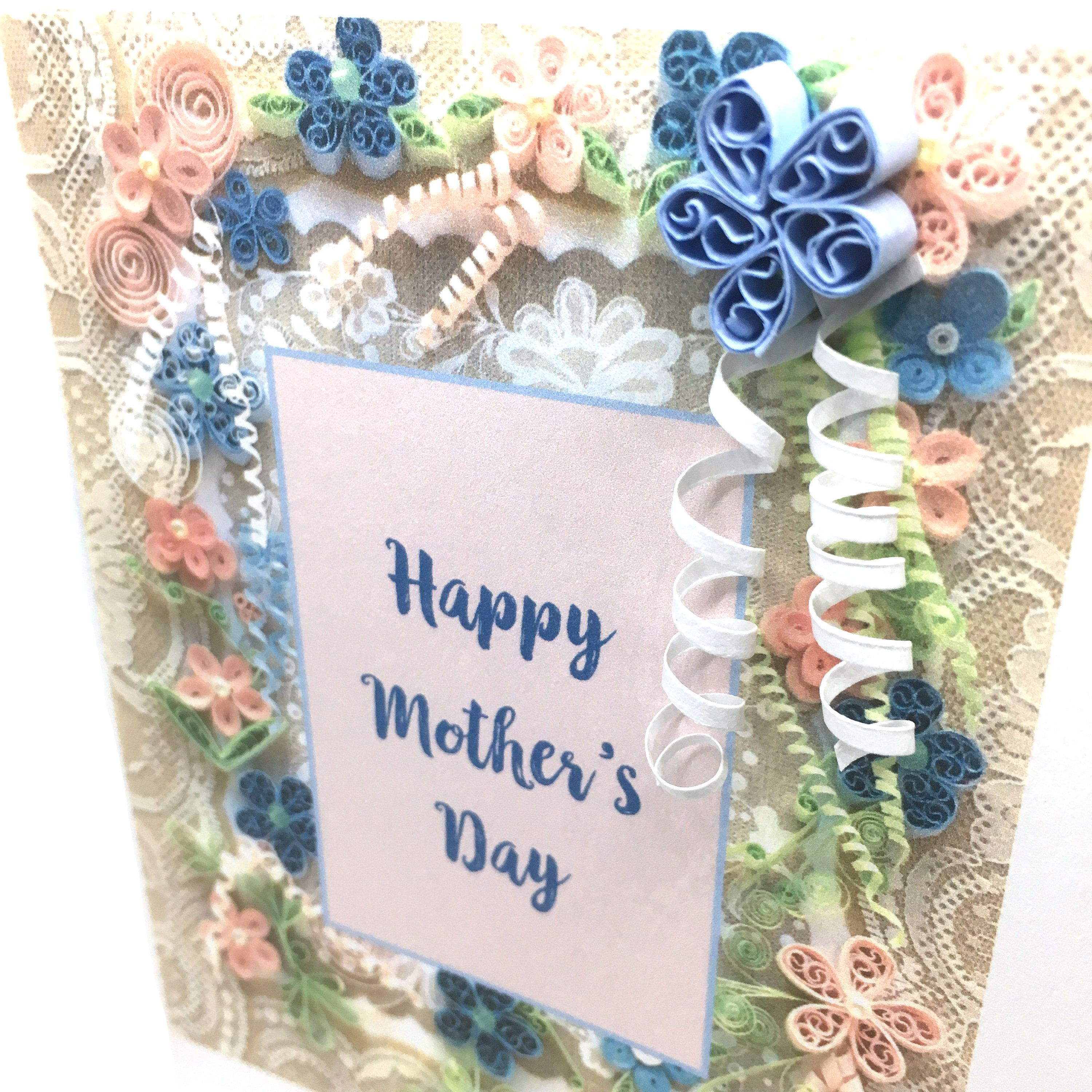 Happy Mother S Day Card Mother S Day Card Floral Special