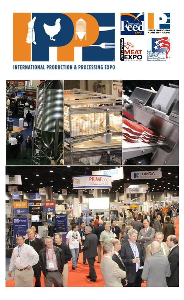The International Production And Processing Expo 2015 Ippe