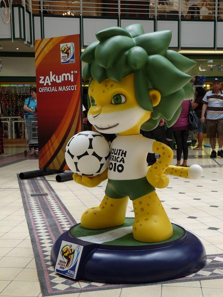 Idleidol Net Archive Zakumi World Cup Mascot Mascot Creative Art Africa