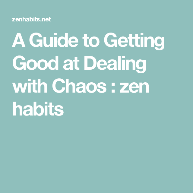 Zen habits meditation