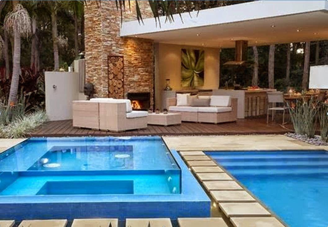 Resultado de imagen para terrazas techadas de casas - Piscinas modernas ...