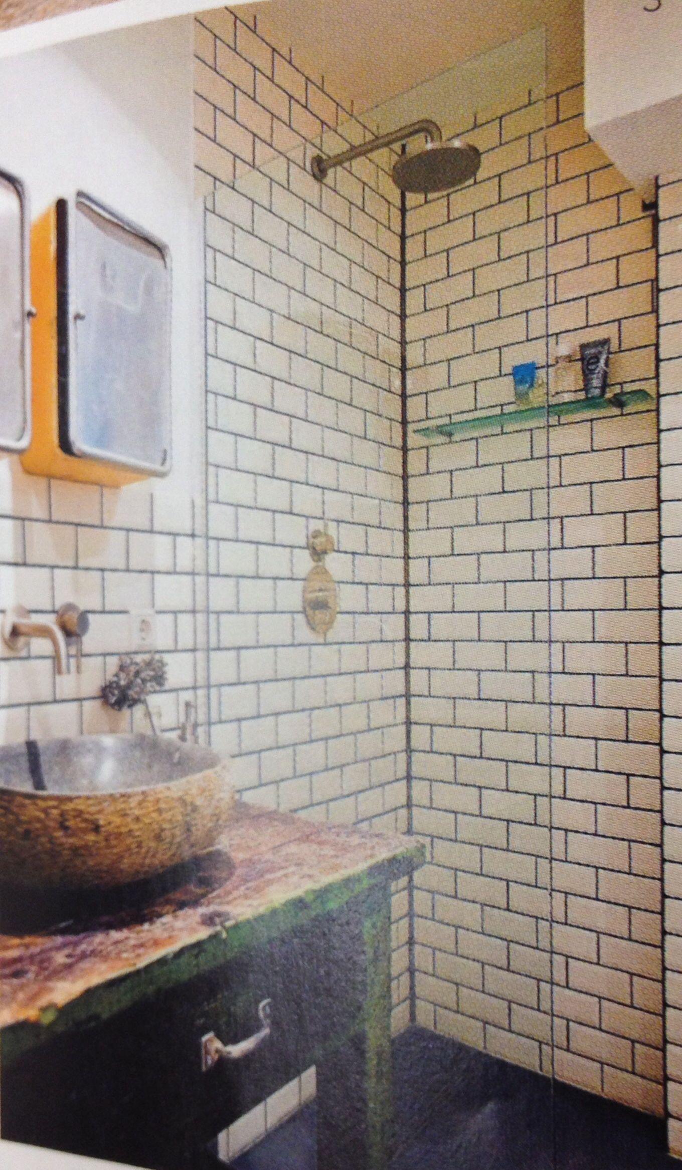 Metro tegels voor badkamer | badkamer | Pinterest | Toilet