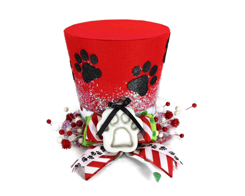 Dog paw print Christmas Decoration Dog t Dog ornament