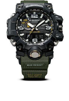 b7e98ce45 MUDMASTER - G-SHOCK - CASIO Relojes Hombre, Reloj Casio, Reloj Hora,