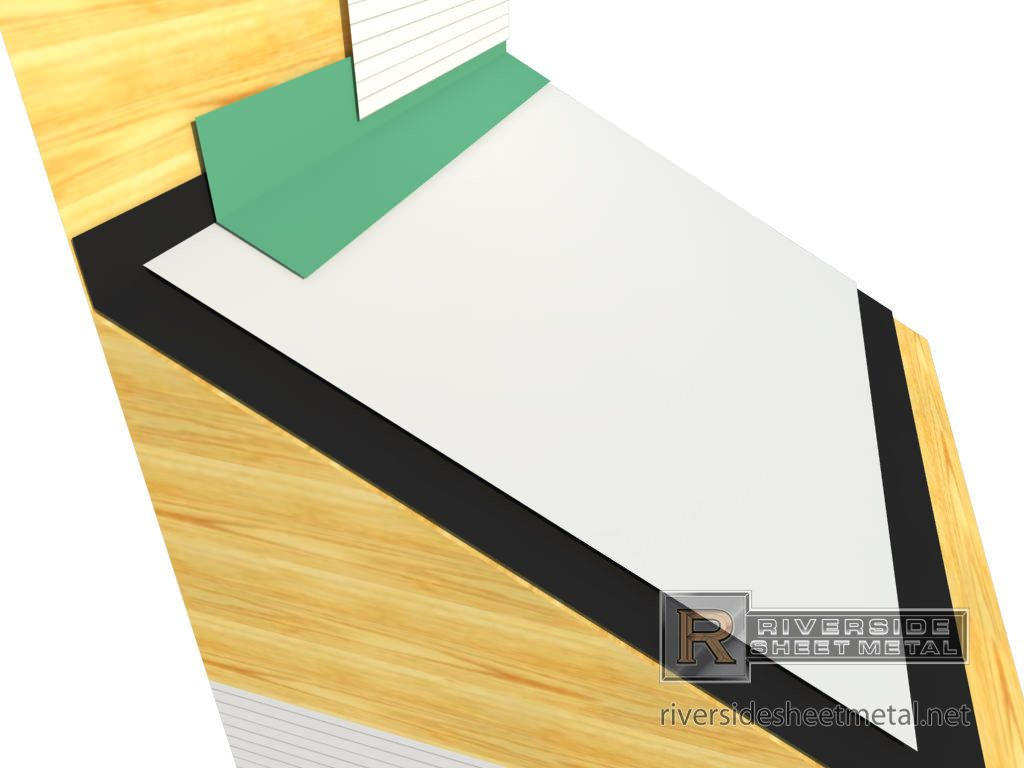 Head Wall Flashing For Roofing Copper Aluminum Steel Roofing Flashing Wall