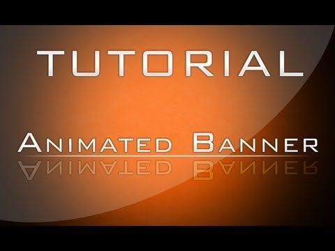 ▷ Adobe Photoshop How to make an Animated Banner - YouTube