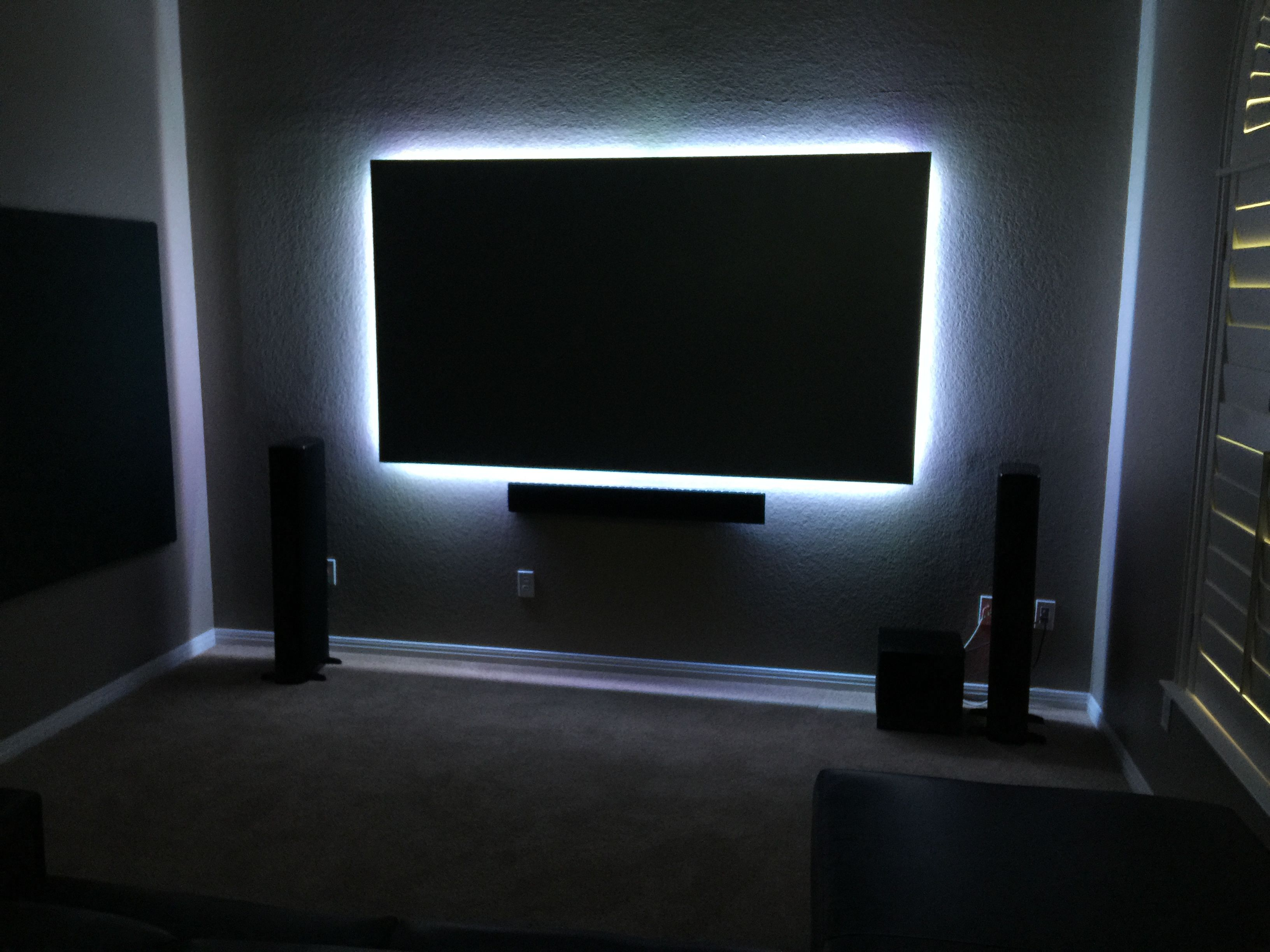 Screen Innovations black diamond with back lit package