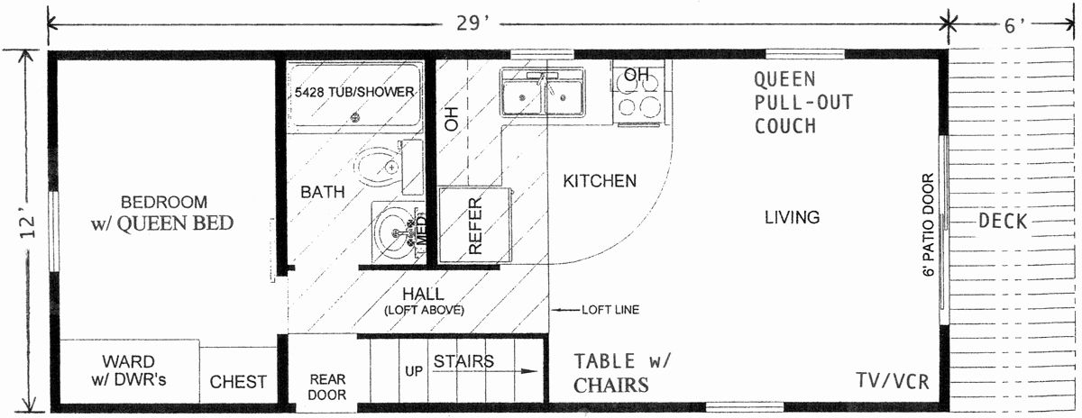 14x40 Floor Plans Inspirational 14 40 Cabin Floor Plans