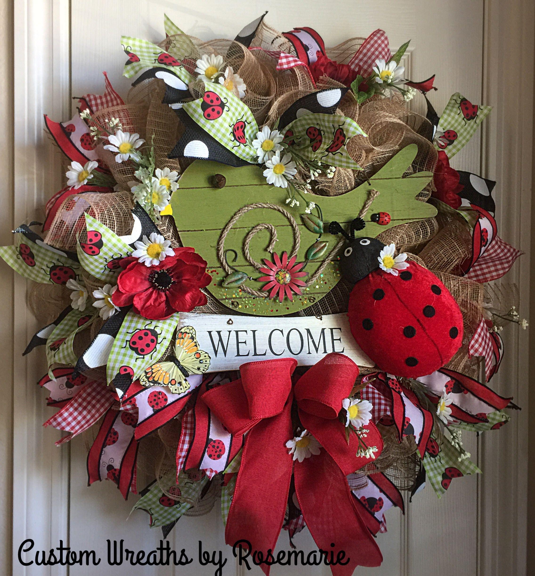 Pin by wreathsbyro on Trendy Tree Custom Wreath Designer Creations