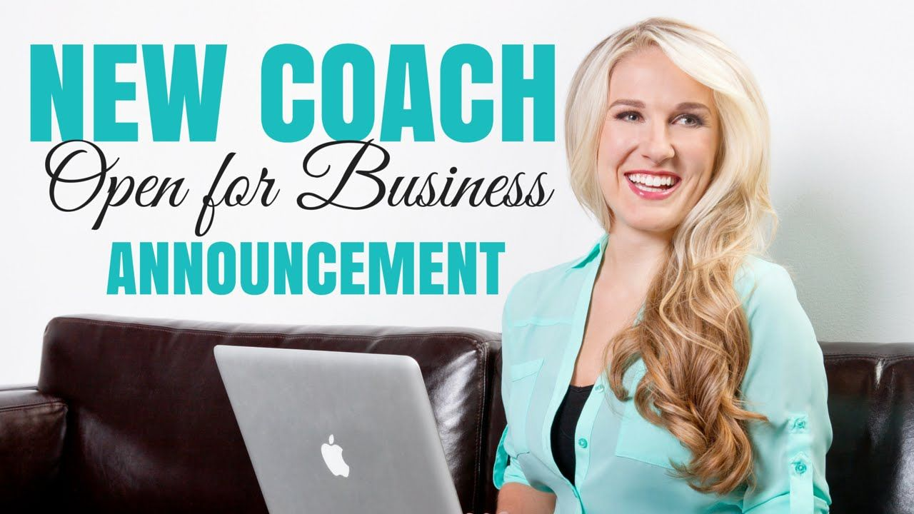 How to Share Your Story or New Coach Announcement (With