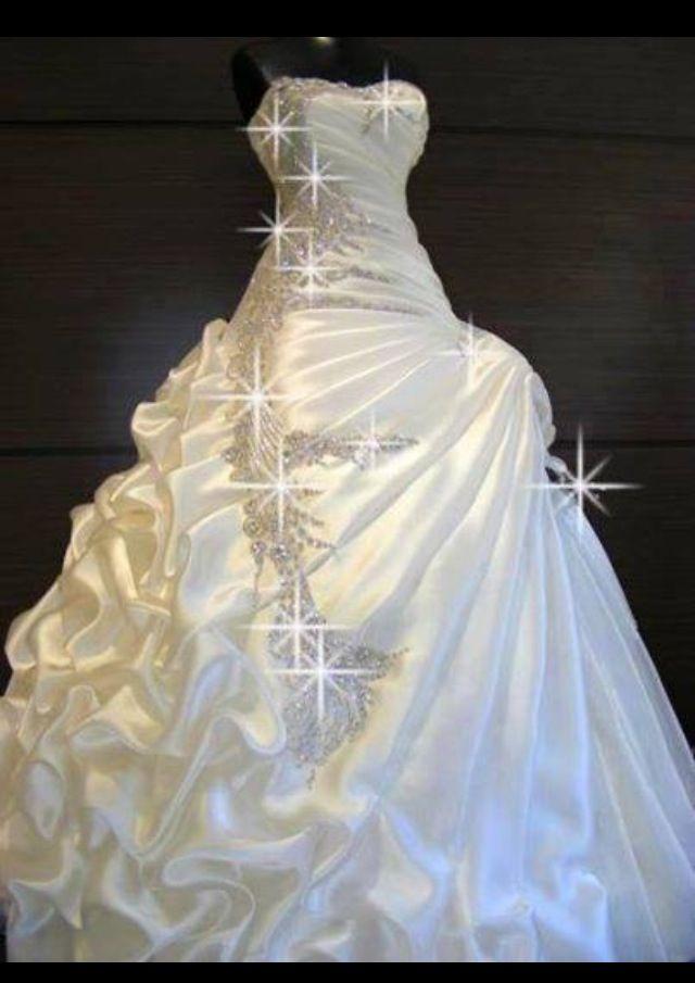 Wedding bright made dress cheap