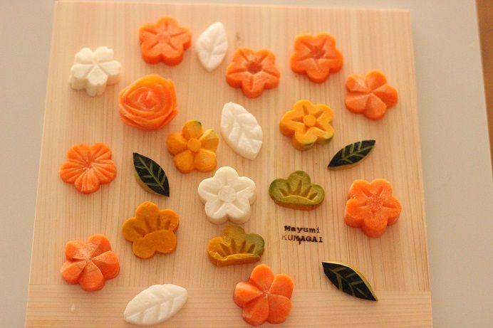 野菜の飾り切りやり方 | Food【2019】 | 料理、飾り切り、和食