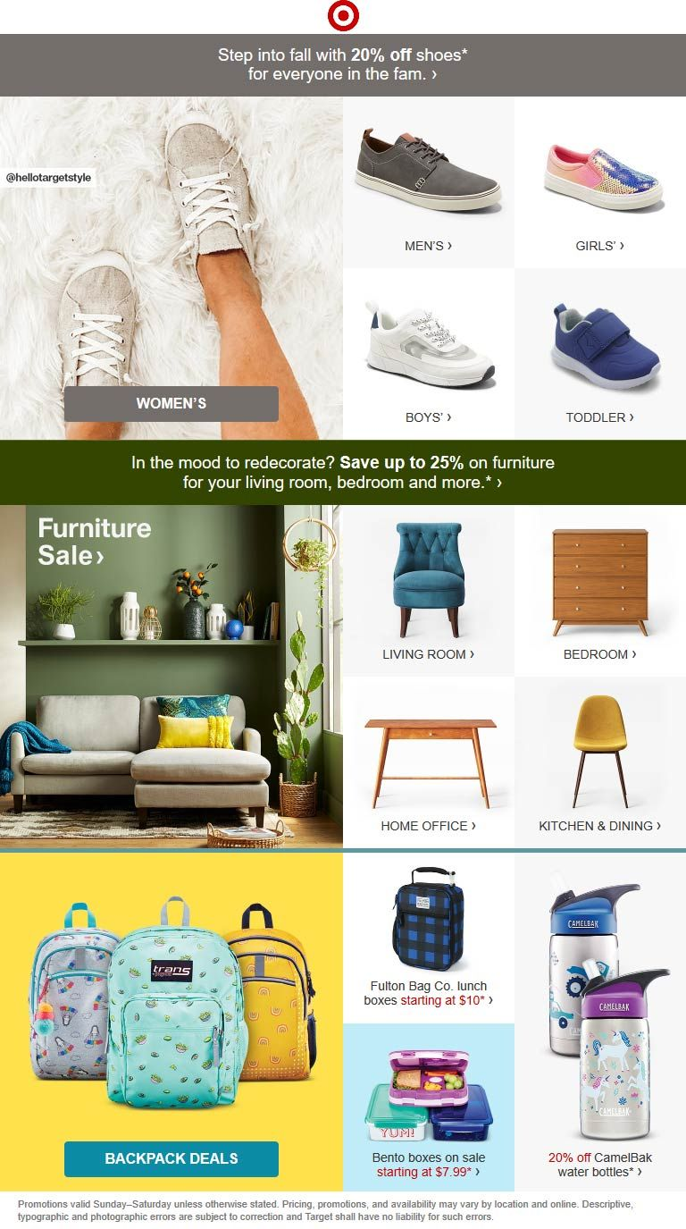 Pinned August 12th 20 Off Shoes At Target Or Online Via Promo Code Shoes20 Thecouponsapp Shopping Coupons Target Coupons Coupon Apps