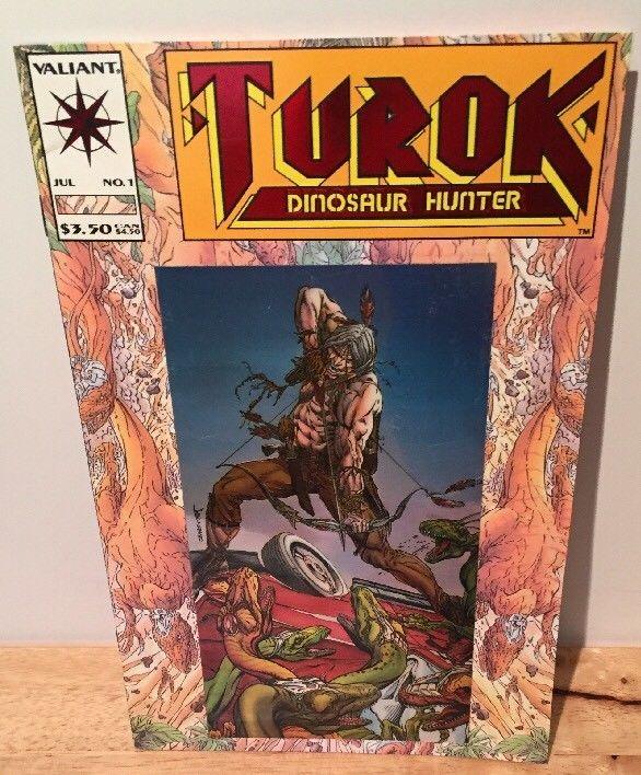 Turok Dinosaur Hunter Valiant July No 1 Paperback Comic Book