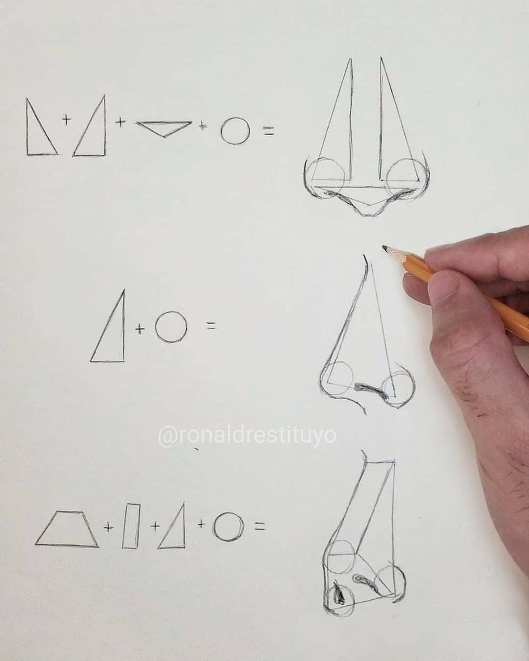 Art Daily On Instagram How To Comment Nose In Different Languages Great Art By Ronald Restitu In 2020 Nose Drawing Portrait Drawing Drawing Tutorial Face