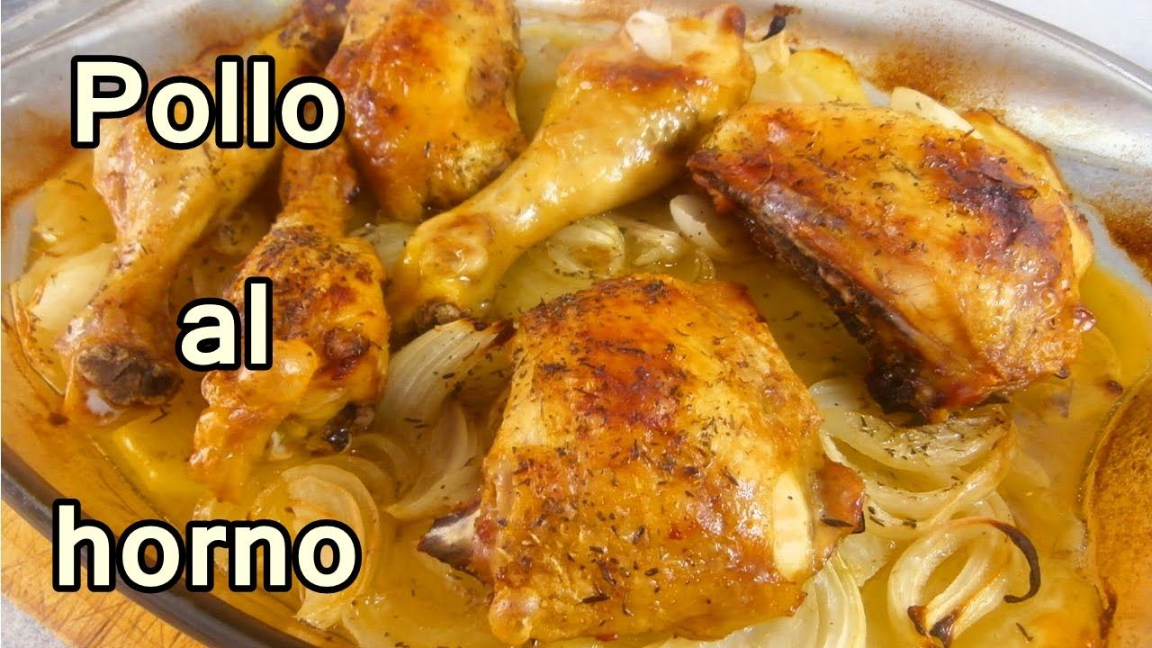 Pollo al horno con papas y cebolla recetas de cocina faciles y foods forumfinder Gallery